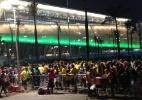 Fifa reforça operação em Cuiabá, mas aumenta filas na Arena Pantanal - Guilherme Costa/UOL
