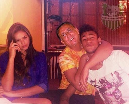 Elogios de Galvão Bueno para Neymar ainda rendem zoações dos internautas