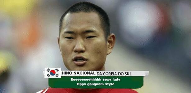 Hino da Coreia do Sul: Gangnam Style