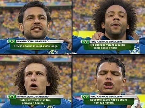 Hino do Brasil versão funk