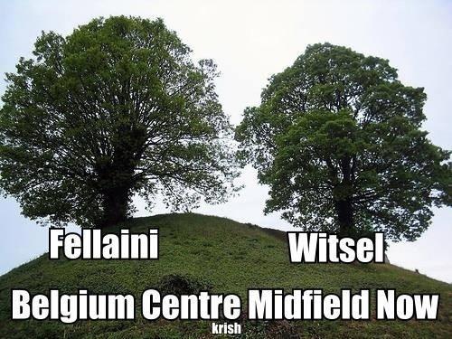 """""""Meio-campo da Bélgica"""". Cabeleireira de jogadores da Bélgica viraram piada na internet"""
