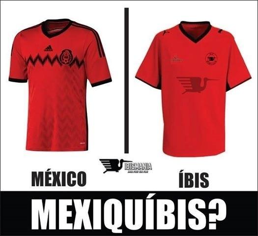 México virou Íbis na internet
