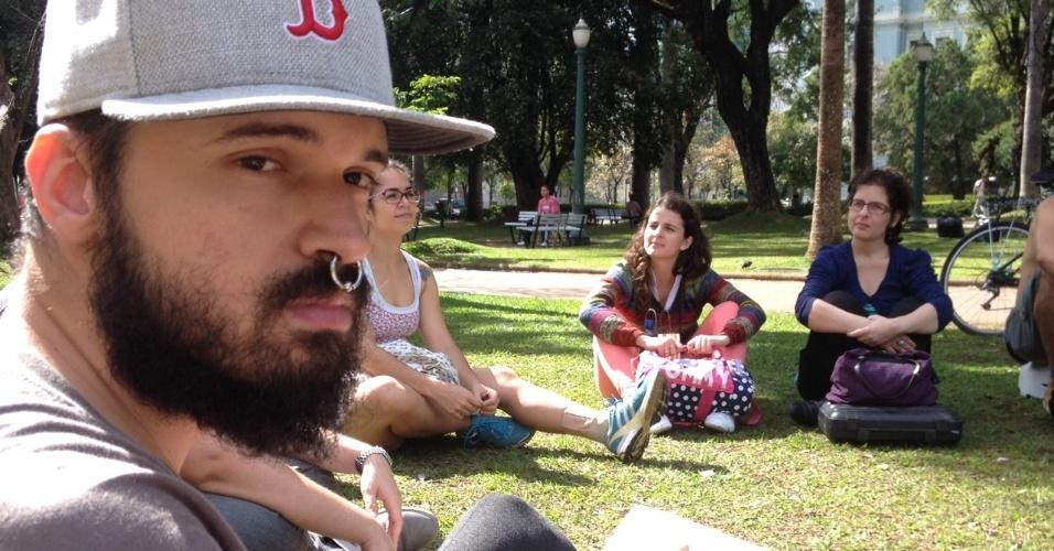 O designer Lucas Bahia foi revistado três vezes em menos de 2 horas nas ruas de Belo Horizonte