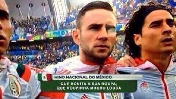 Seleção do México ganhou um hino bem conhecido