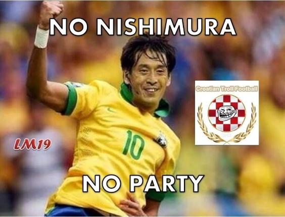 """""""Sem Nishimura, sem festa"""". Gringos tiram sarro da atuação brasileira"""