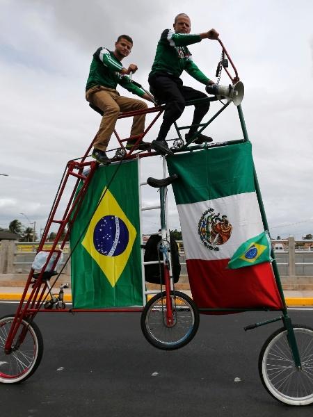 """""""A bicicleta requer um consumo muito pequeno de energia"""" - REUTERS/Sergio Moraes"""