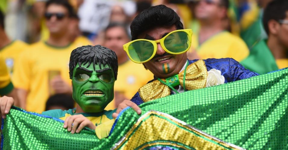 17.jun.2014 - Hulk é fortão, mas nunca terá o charme e o carisma inigualável de Zé Bonitinho