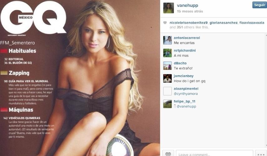 A beleza da mexicana já foi reconhecida em seu país, a ponto de ela fazer ensaio sensual para a revista GQ