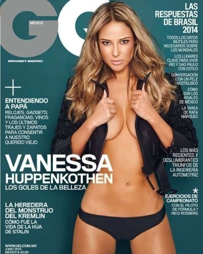 A beleza da mexicana já foi reconhecida em seu país, a ponto de ela posar para a revista GQ