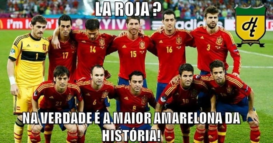 Apelido da seleção espanhola já mudou com as derrotas do time
