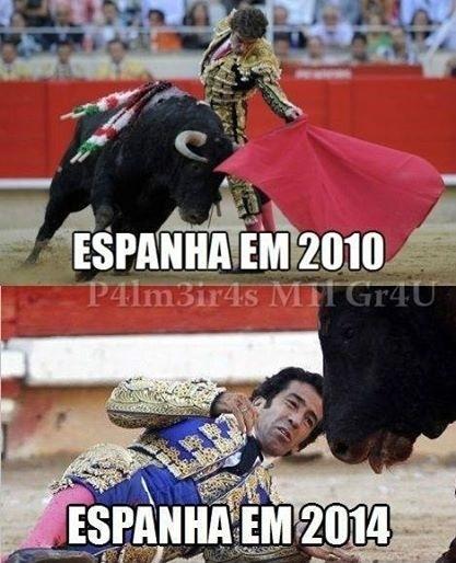 As coisas mudaram muito na seleção espanhola em quatro anos