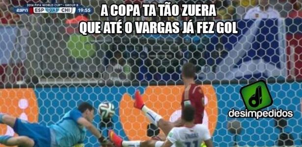 Até o Vargas tá fazendo gol na Copa das Copas