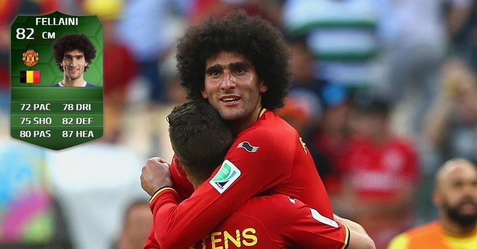 Bélgica 2 x 1 Argélia: Fellaini (80 para 82)
