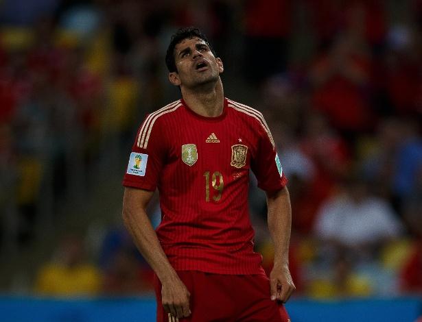Diego Costa: de esperança a decepção na Copa do Mundo do Brasil