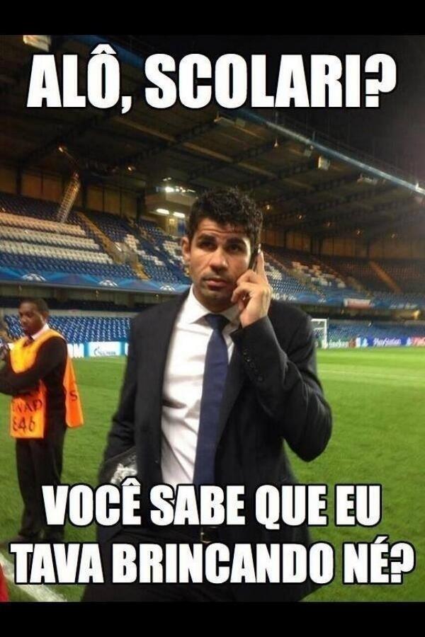 Diego Costa virou piada na internet