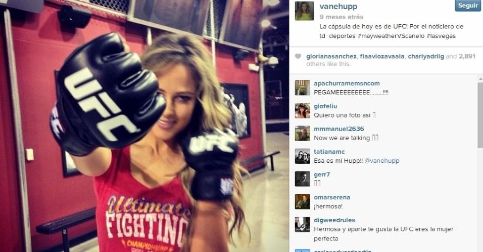 E Vanessa ainda gosta de UFC