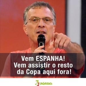 """""""Espanha, você está eliminada"""""""