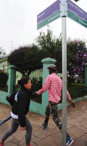 Casa da família Scolari ficava a poucos metros da antiga sede do Sport Club Gaúcho, no bairro do Boqueirão