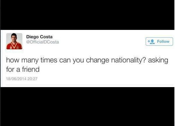 """""""Quantas vezes é possível mudar de nacionalidade? Estou perguntando para um amigo"""""""