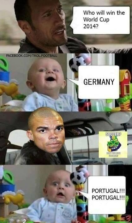 """""""Quem vai ganhar a Copa do Mundo? Alema"""