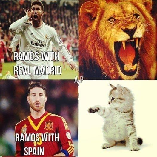 """""""Ramos no Real Madrid. Ramos na Espanha"""""""