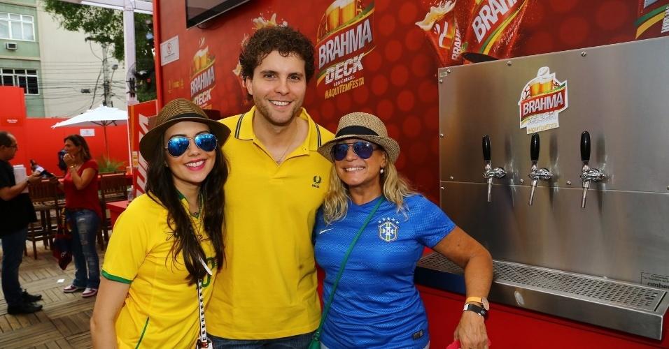 Thiago Fragoso e Suzana Vieira vão ao Maracanã para jogo entre Espanha e Chile