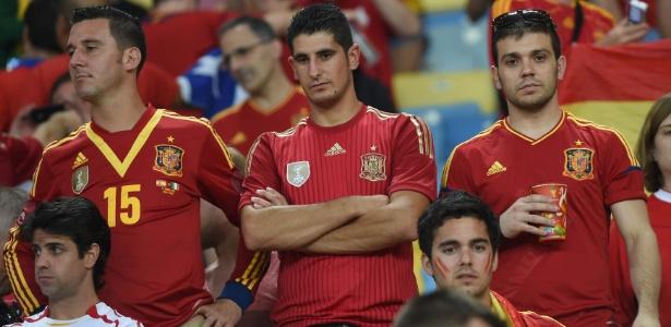 Espanhóis foram eliminados na primeira fase; jornalista europeu ficou #chateado