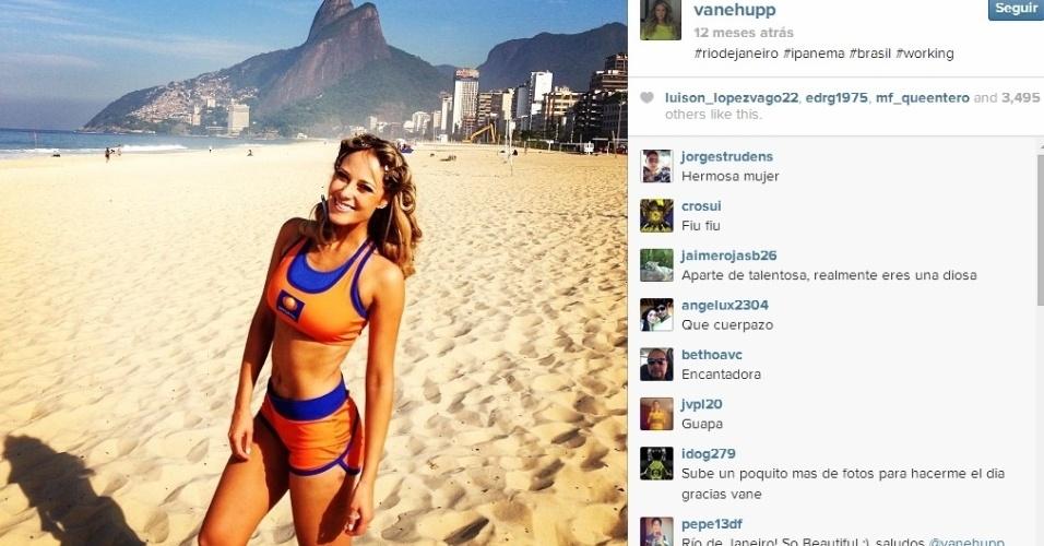 Vanessa já veio diversas vezes para o Brasil e é fã das praias e até do açaí