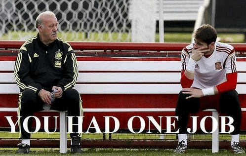 """""""Você só tinha um trabalho"""", diz Del Bosque para Casillas"""