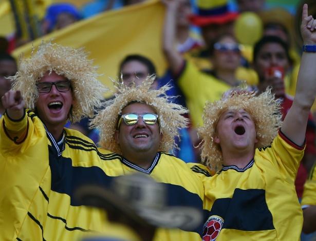 Torcedores colombianos terão apenas cerca de 8 mil lugares disponíveis no Castelão