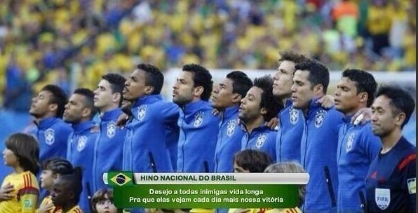 A versão funk do hino brasileiro fez sucesso na web