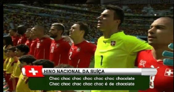 Chocolate suíço está mais conhecido do que o futebol da seleção