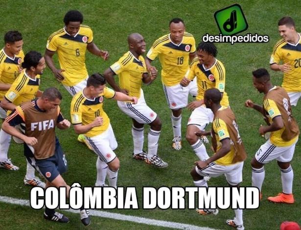 Colômbia ganhou um novo apelido nesta Copa