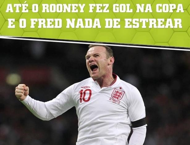 Fred não está mesmo agradando os torcedores brasileiros