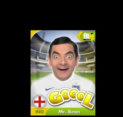 Gol da Inglaterra, Mr. Bean é o nome dele! Ou melhor, Wayne Rooney