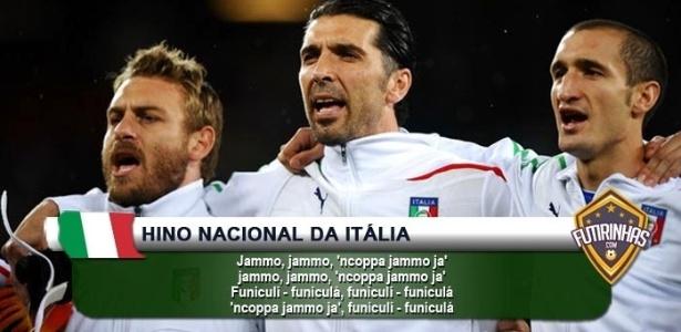 Hino da Itália também foi alterado
