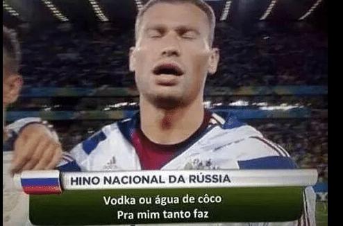 Hino russo versão Naldo gerou risadas na internet