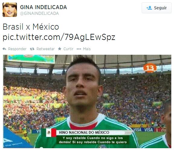 Muito rebeldes esses mexicanos