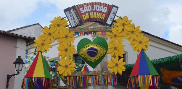 Pelourinho está pronto para receber os turistas para os festejos de São João