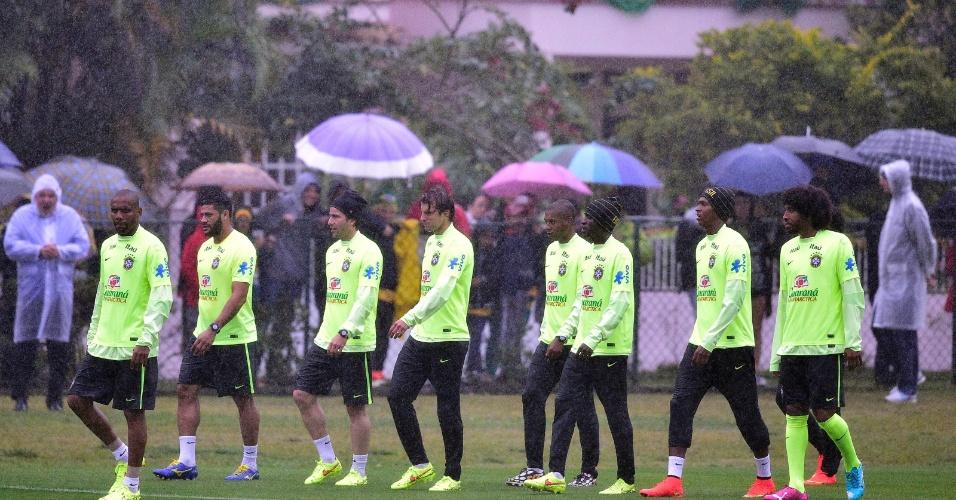 Seleção brasileira se reapresenta e volta a treinar na Granja Comary nesta quinta-feira