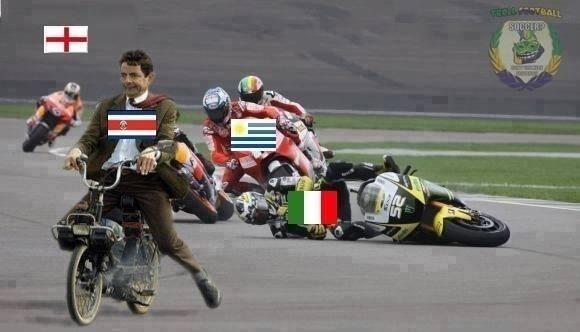 "À la Mr. Bean, Costa Rica dispara no ""grupo da morte"""