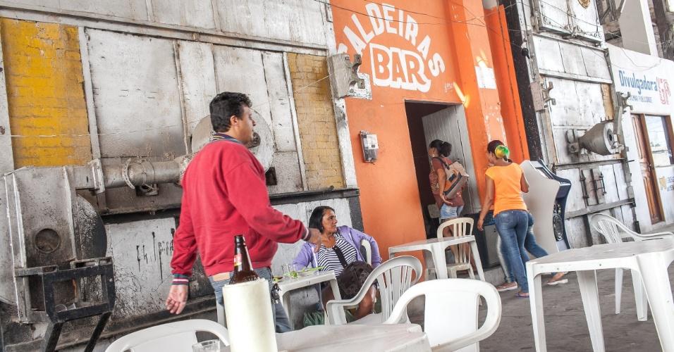 Antiga fábrica da Peixe, hoje mercado da cidade de Pesqueira, onde o pai do meia da seleção Paulinho, José Paulo Bezerra Maciel, nasceu e vive hoje, ele é descendente da tribo indígena Xucuru no interior do Pernambuco