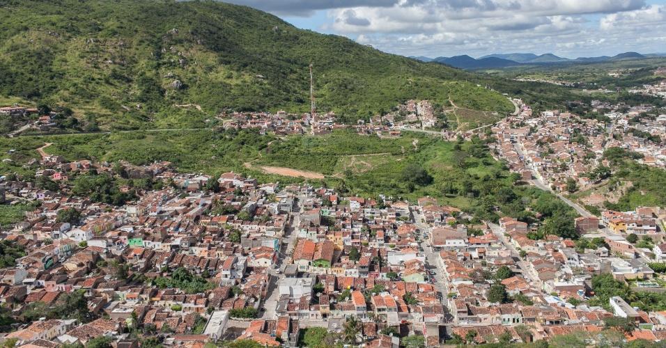 Bairro Xucurus, na cidade de Pesqueira, onde pai do meia da seleção Paulinho, José Paulo Bezerra Maciel, nasceu e vive hoje