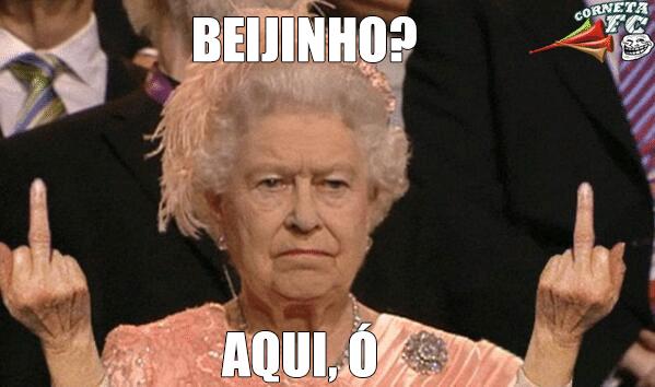 E o Balotelli ainda queria um beijinho da rainha da Inglaterra em caso de vitória...