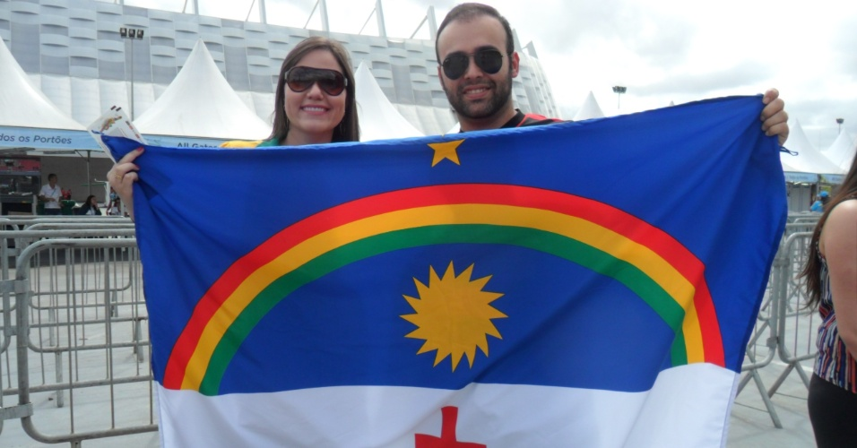 Pernambucanos marcam presença na partida entre Itália e Costa Rica
