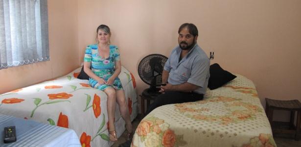 Taxista Evaldo Campos, de 40 anos, recebeu dois hóspedes colombianos em sua casa em BH
