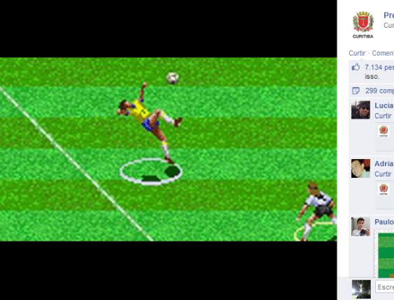 Allejo, craque virtual, é velho conhecido de qualquer um que jogou videogame nos anos 90