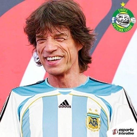 Ele bem que tentou zicar os argentinos