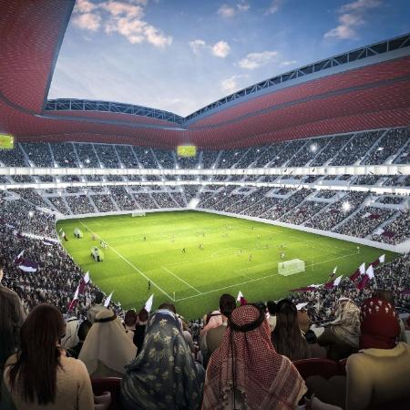Contrato vigente entre Globo e Fifa contempla a Copa do Mundo de 2022 no Qatar - AFP PHOTO / Qatar 2022 committee