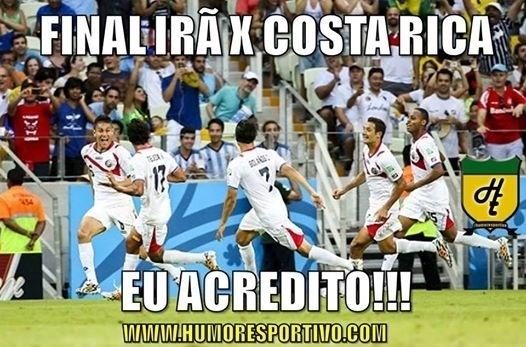 Já tem até uma nova queridinha na Copa, e não é a Costa Rica
